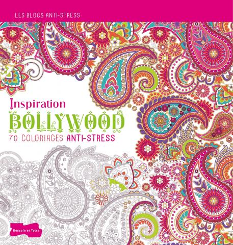 Coloriage pour adulte Bollywood
